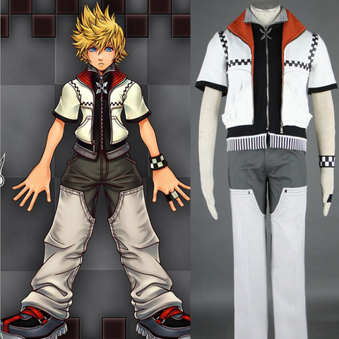 Kingdom Hearts Roxas Cosplay Costume COT004 - cosplaysos