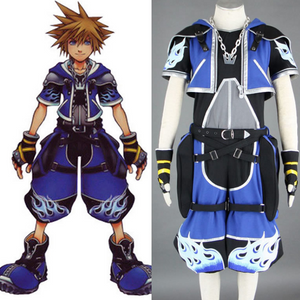 Kingdom Hearts Sora Cosplay Costume COT006 - cosplaysos