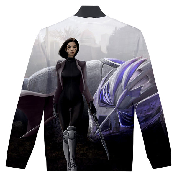 Alita Sweatshirt - Battle Angel Sweatshirt CSOS972 - cosplaysos
