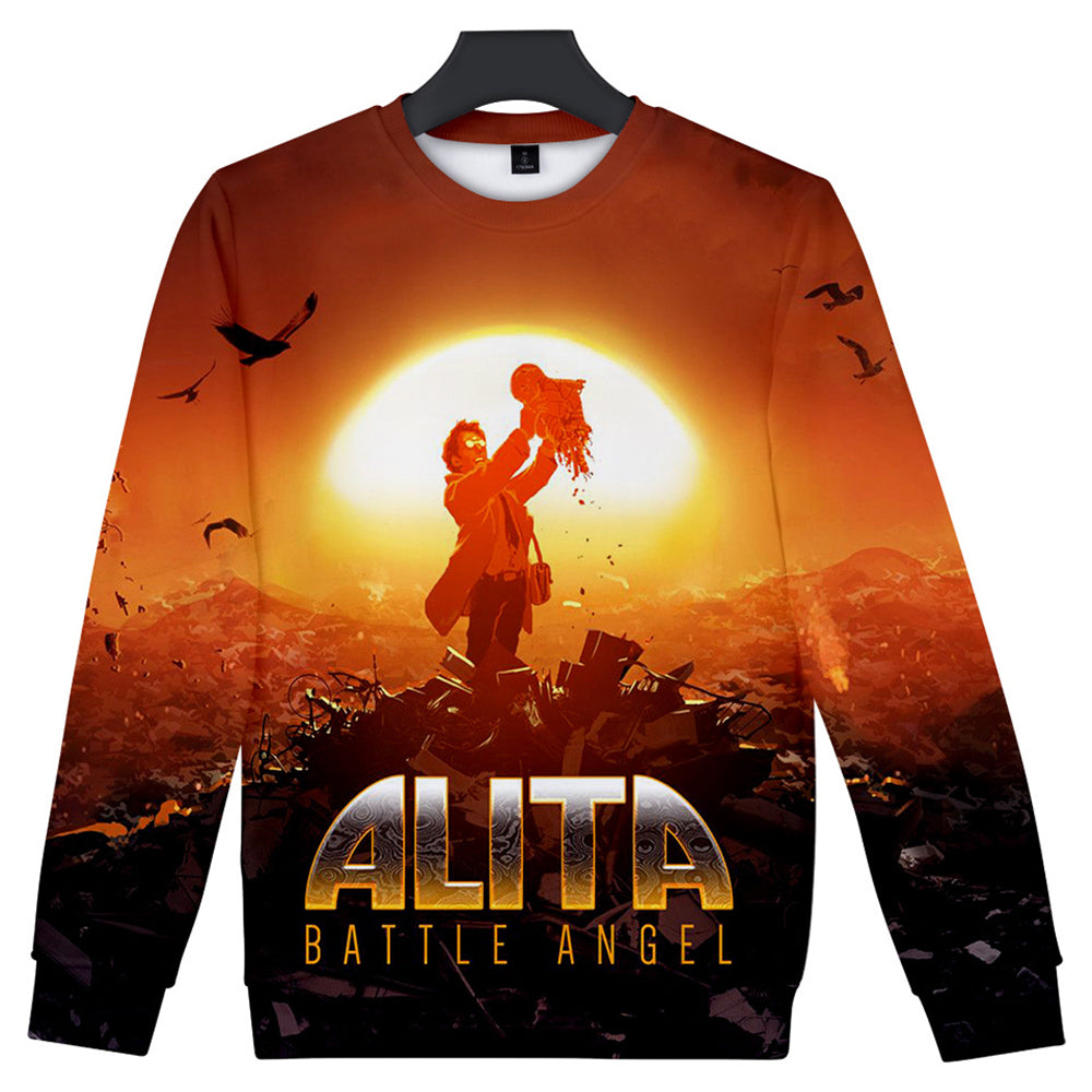 Alita Sweatshirt - Battle Angel Sweatshirt CSOS973 - cosplaysos