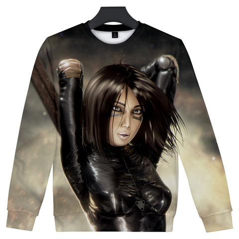 Alita Sweatshirt - Battle Angel Sweatshirt CSOS974 - cosplaysos