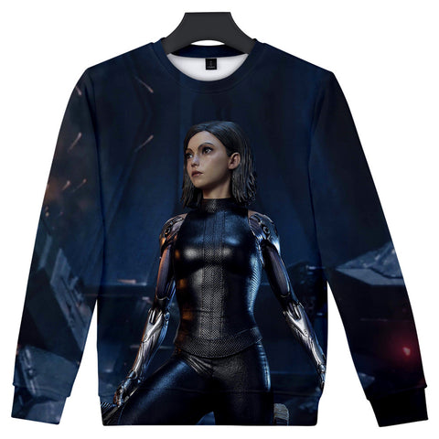 Alita Sweatshirt - Battle Angel Sweatshirt CSOS976 - cosplaysos