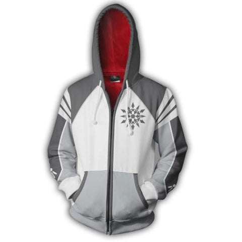 RWBY Anime Cosplay Costume Sweatshirt Zip Up Hoodie CSP004 - cosplaysos