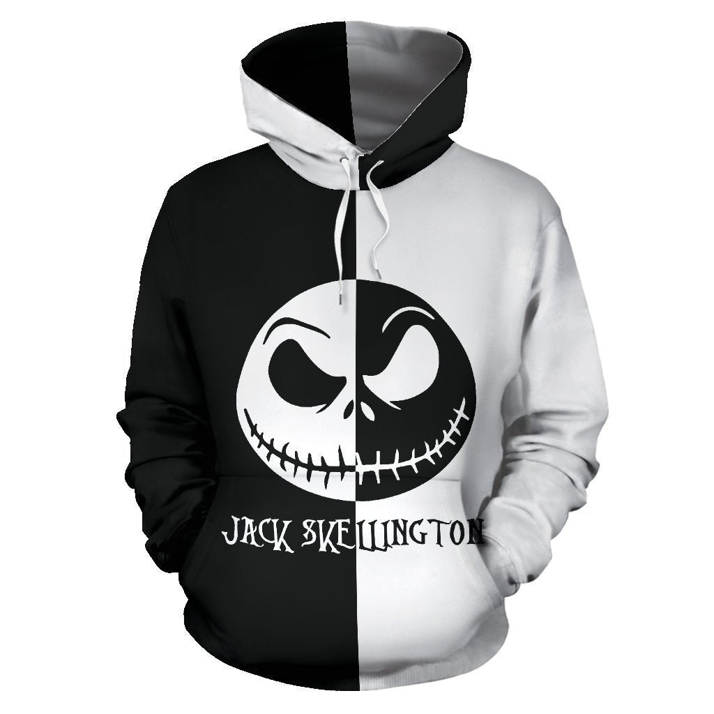 Jack Skellington The Nightmare Before Christmas Unisex Pullover Hoodie CSS100 - cosplaysos