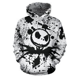 Jack Skellington The Nightmare Before Christmas Pullover Hoodie CSS102 - cosplaysos