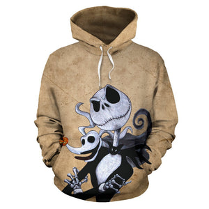 Jack Skellington The Nightmare Before Christmas Pullover Hoodie CSS105 - cosplaysos