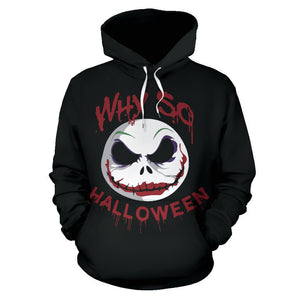 Jack Skellington The Nightmare Before Christmas Pullover Hoodie CSS107 - cosplaysos