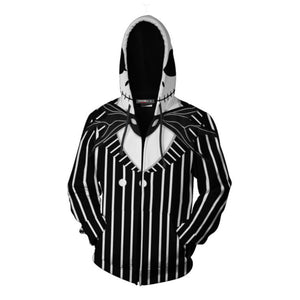 Jack Skellington The Nightmare Before Christmas Pullover Hoodie CSS109 - cosplaysos