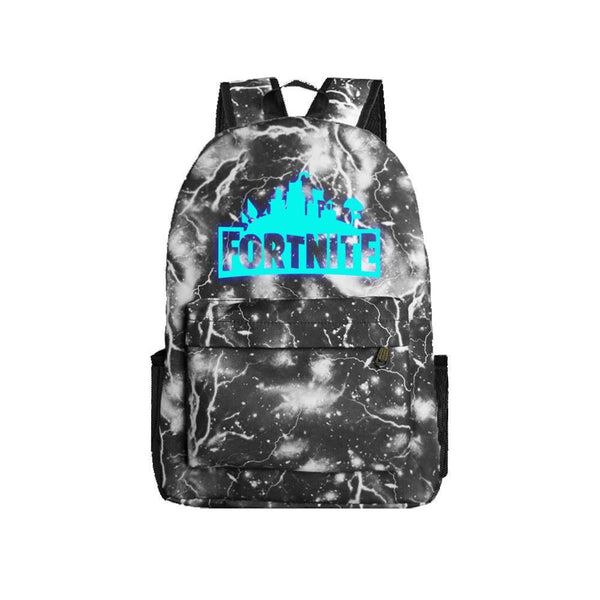 "Game Fortnite 17"" Canvas Luminous Bag Backpack CSSO089 - cosplaysos"