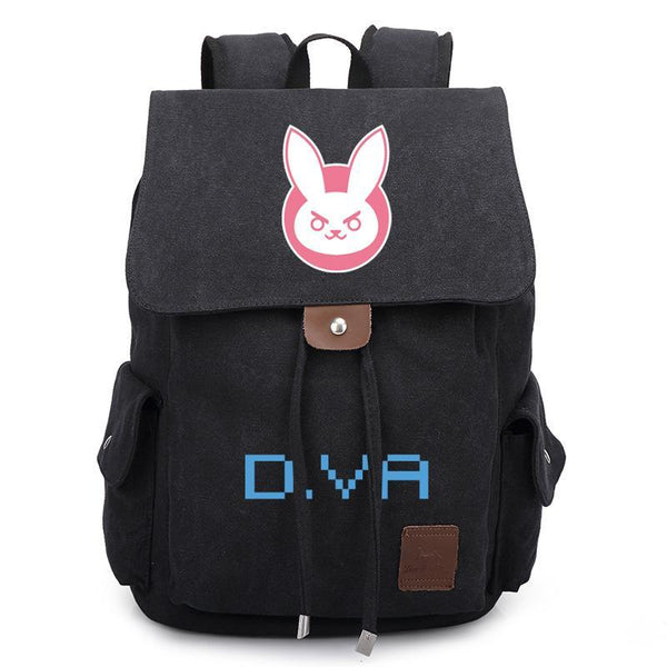 Game Overwatch Casual Canvas Backpack CSSO132 - cosplaysos