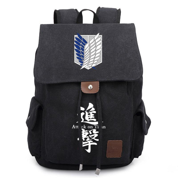 Anime Comics Attack On Titan Rucksack Backpack CSSO117 - cosplaysos