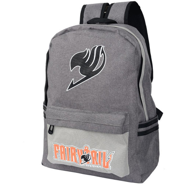Anime Comics Fairy Tail Canvas Backpack CSSO137 - cosplaysos