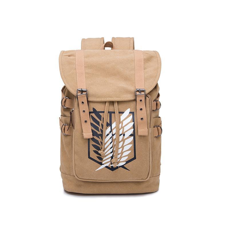Anime Comics Attack On Titan Drawstring Backpack CSSO122 - cosplaysos