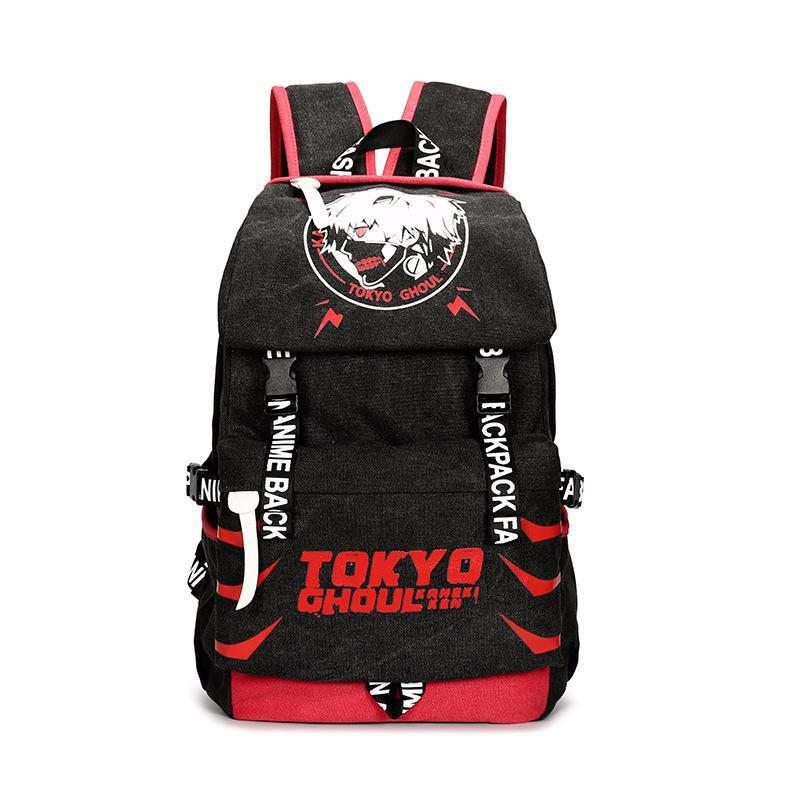 Anime Comics Tokyo Ghoul Canvas Daypack Backpack CSSO154 - cosplaysos