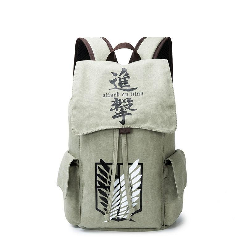 Anime Comics Attack On Titan Drawstring Backpack CSSO120 - cosplaysos