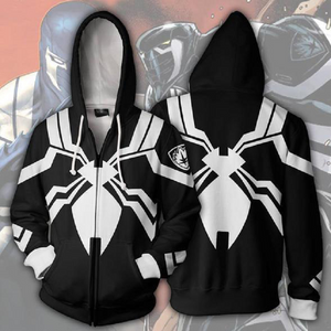 Venom Hoodies - Venom Space Knight Cosplay Zip Up Hoodie CSOS151 - cosplaysos