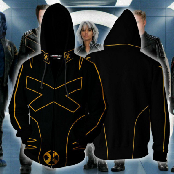 X-Men: Dark Phoenix Zip Up Hoodie CSOS705 - cosplaysos