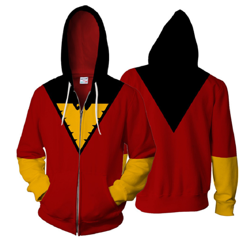 X-Men: Dark Phoenix Zip Up Hoodie CSOS706 - cosplaysos