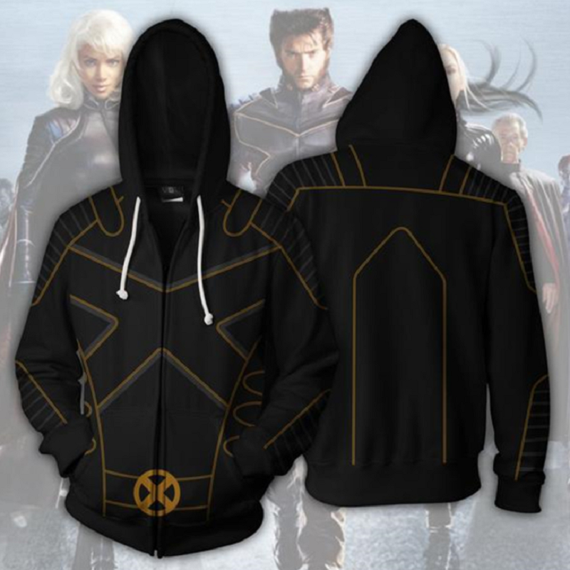 X-Men: Dark Phoenix Zip Up Hoodie CSOS708 - cosplaysos