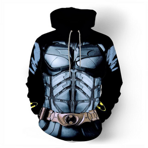 Batman Zip Up Hoodie CSOS817 - cosplaysos