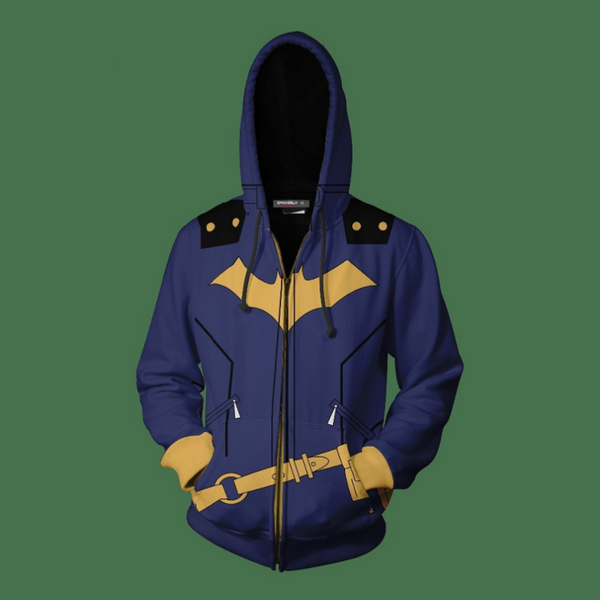 Batman Zip Up Hoodie CSOS819 - cosplaysos