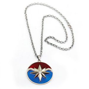 Captain Marvel Inspired - Photo Pendant Necklace CSOS853 - cosplaysos