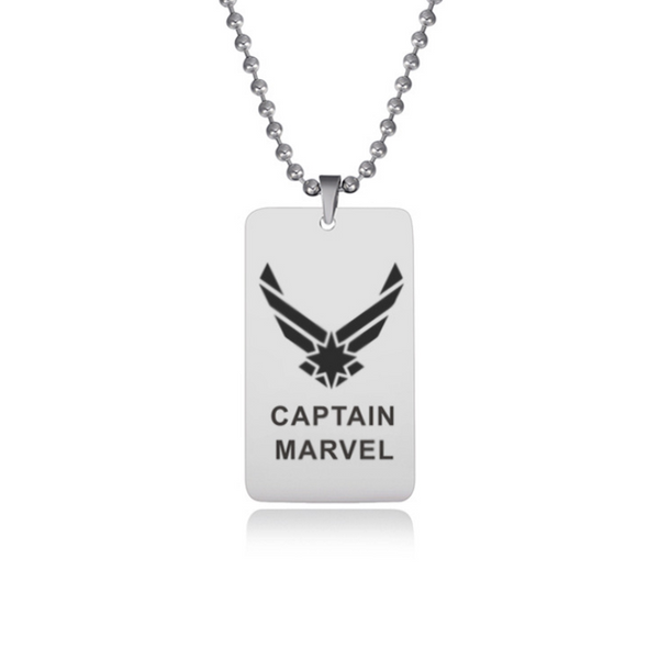 Captain Marvel Stainless Steel Necklace CSOS851 - cosplaysos