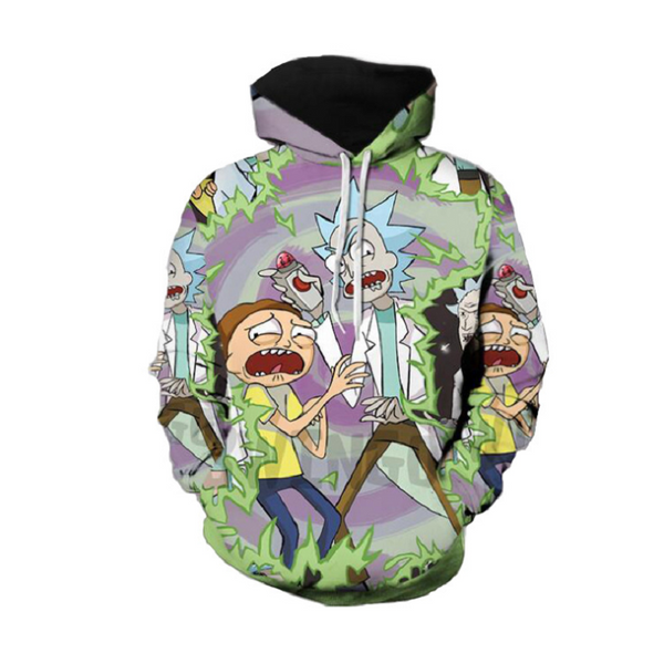 Rick and Morty Pullover Hoodie CSOS857 - cosplaysos