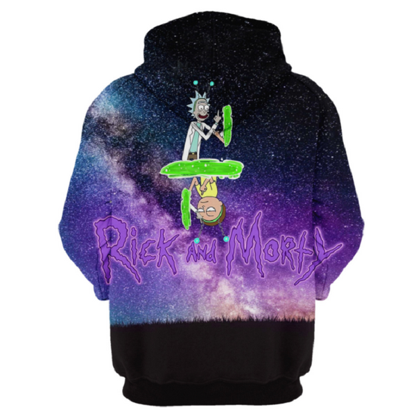 Rick and Morty Pullover Hoodie CSOS864 - cosplaysos
