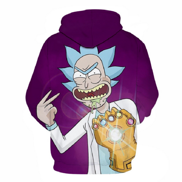 Rick and Morty Pullover Hoodie CSOS865 - cosplaysos
