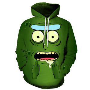 Rick and Morty Pullover Hoodie CSOS871 - cosplaysos