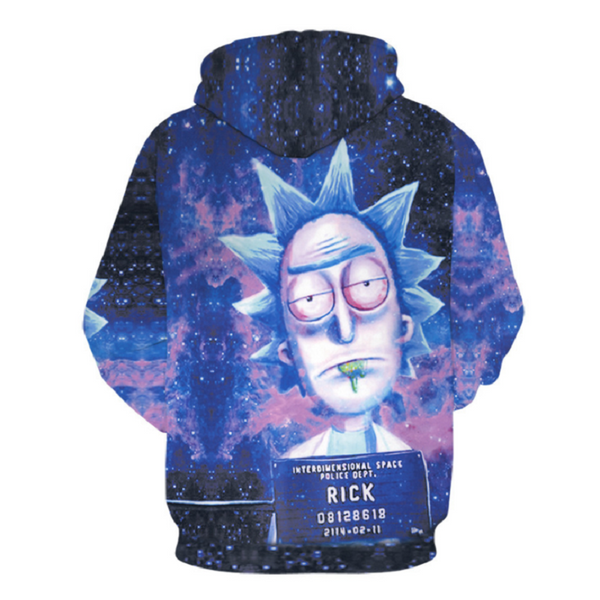Rick and Morty Pullover Hoodie CSOS873 - cosplaysos