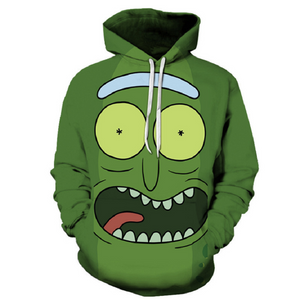 Rick and Morty Pullover Hoodie CSOS874 - cosplaysos