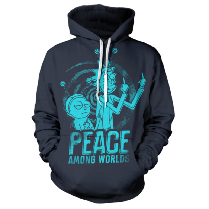 Rick and Morty Pullover Hoodie CSOS879 - cosplaysos