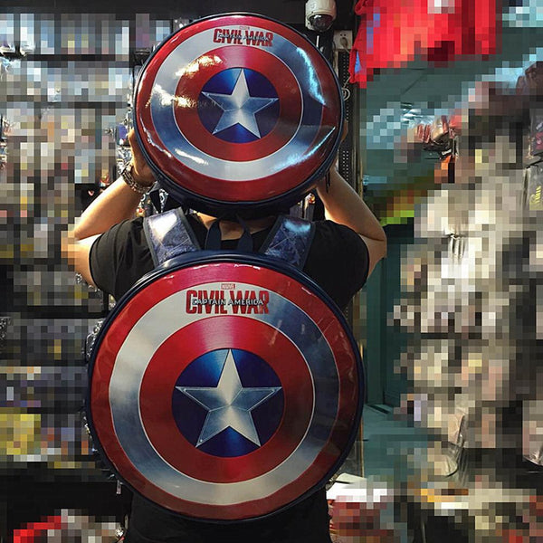 Captain America Shield Backpack CSSO156 - cosplaysos