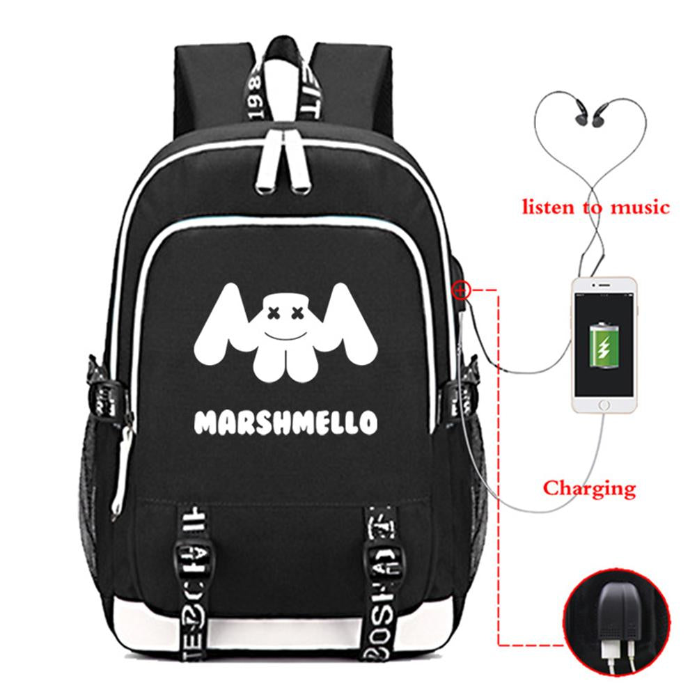 DJ Marshmello College Backpack CSSO160 - cosplaysos