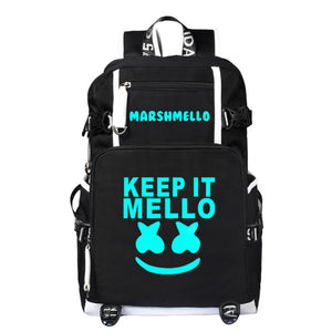 Luminous DJ Marshmello Backpack CSSO221 - cosplaysos