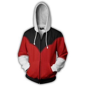 One Punch Man Hoodies - Anime Zip Up Hooded Sweatshirt CSSO051 - cosplaysos