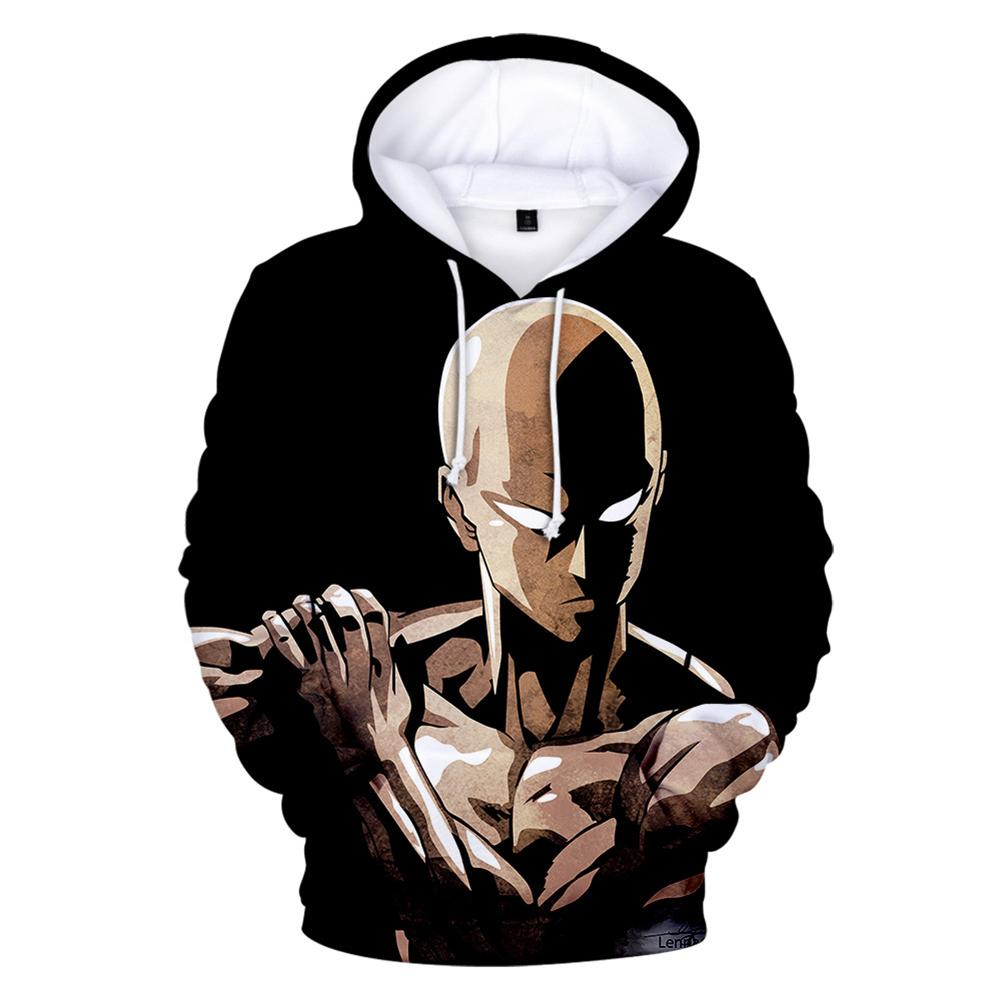 One Punch Man Hoodies - Saitama Pullover Hooded Sweatshirt CSSO043 - cosplaysos