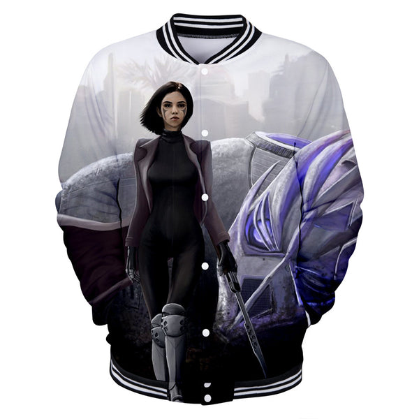 Alita Jacket - Battle Angel Baseball Jacket CSOS962 - cosplaysos
