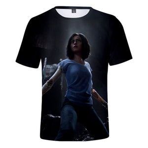 Alita T-Shirt - Battle Angel Graphic T-Shirt CSOS983 - cosplaysos