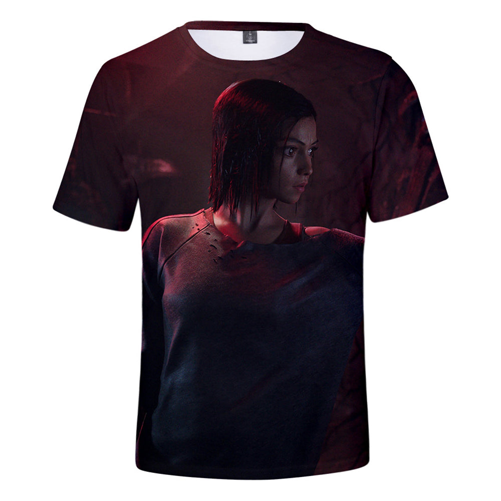 Alita T-Shirt - Battle Angel Graphic T-Shirt CSOS989 - cosplaysos