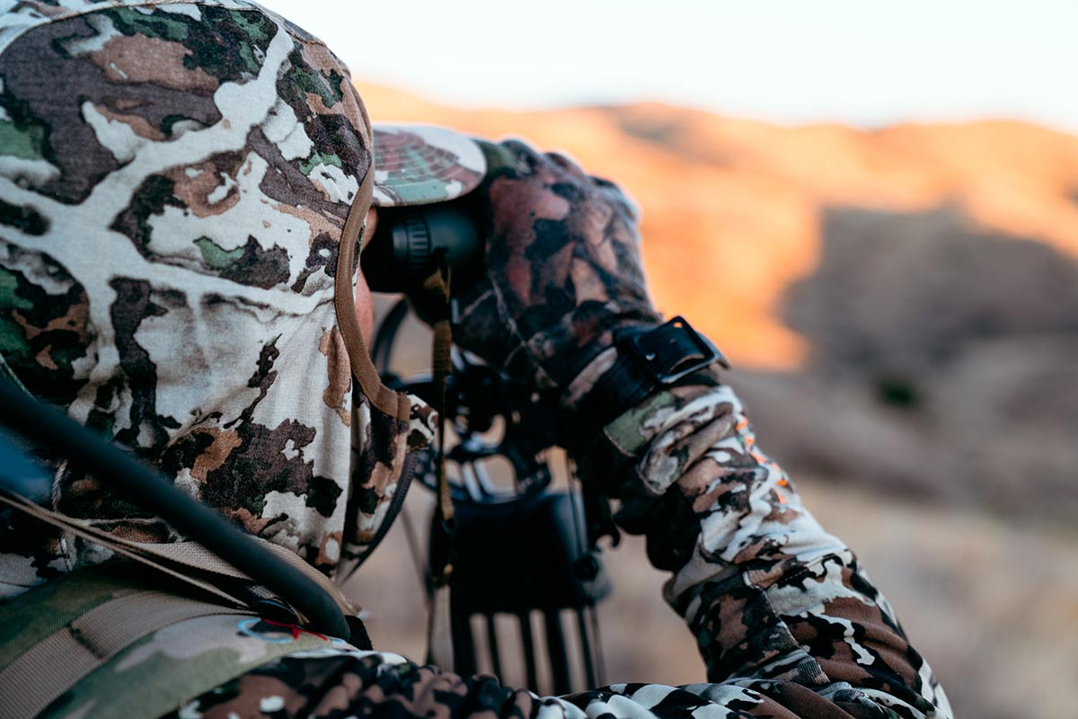 Bowhunter Glassing for Game
