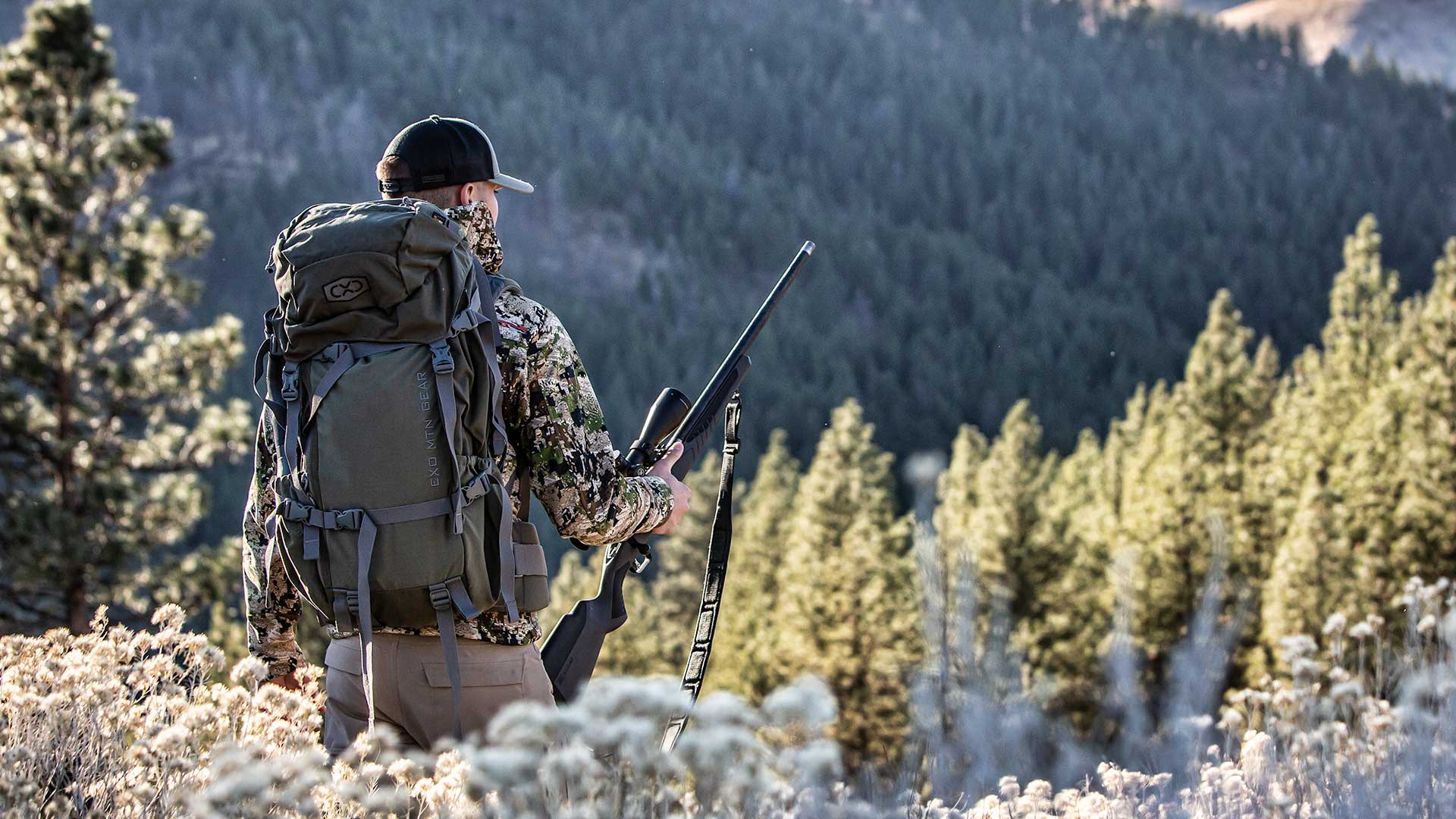 Hunter with K3 3200 Pack System