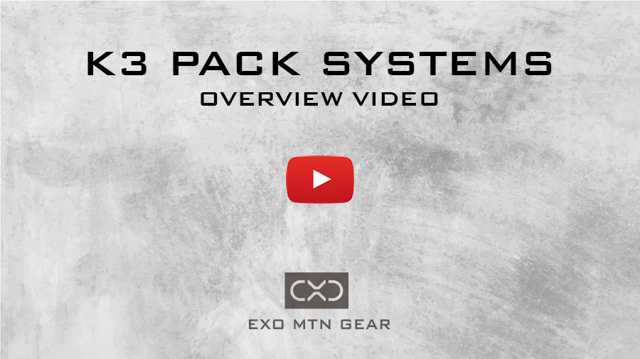 K3 Pack Systems Video Overview