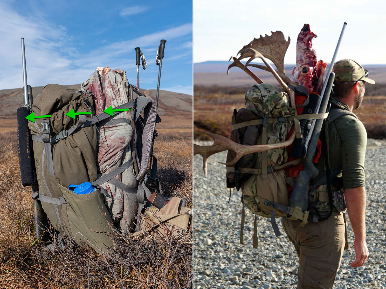 Rifle & Meat on K3 Packs