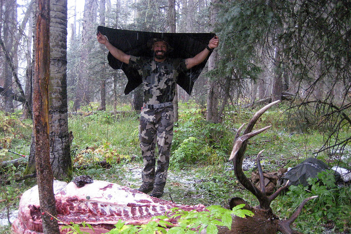 Elk Hunting in the Rain