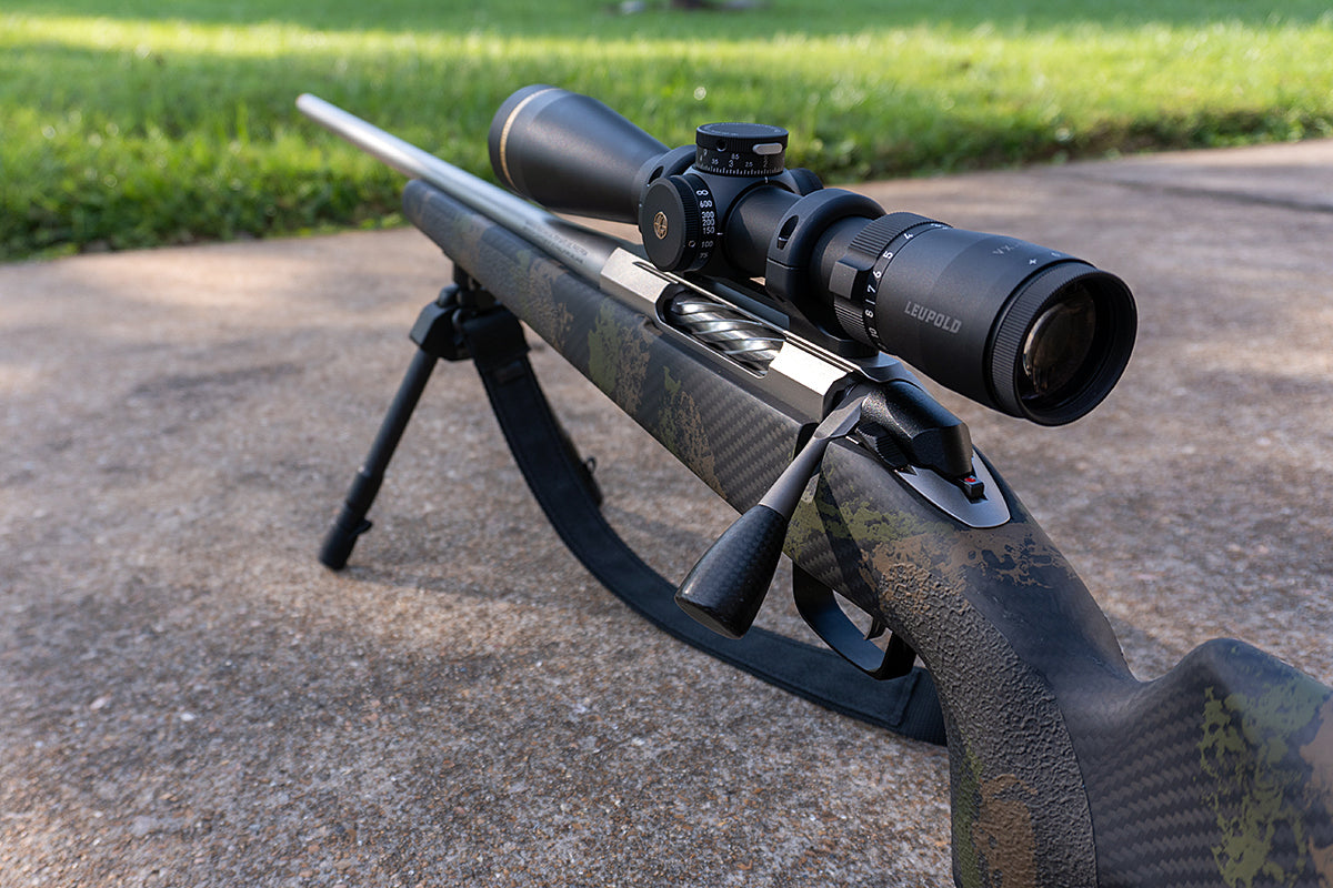 Tikka Rifle and Leupold Scope