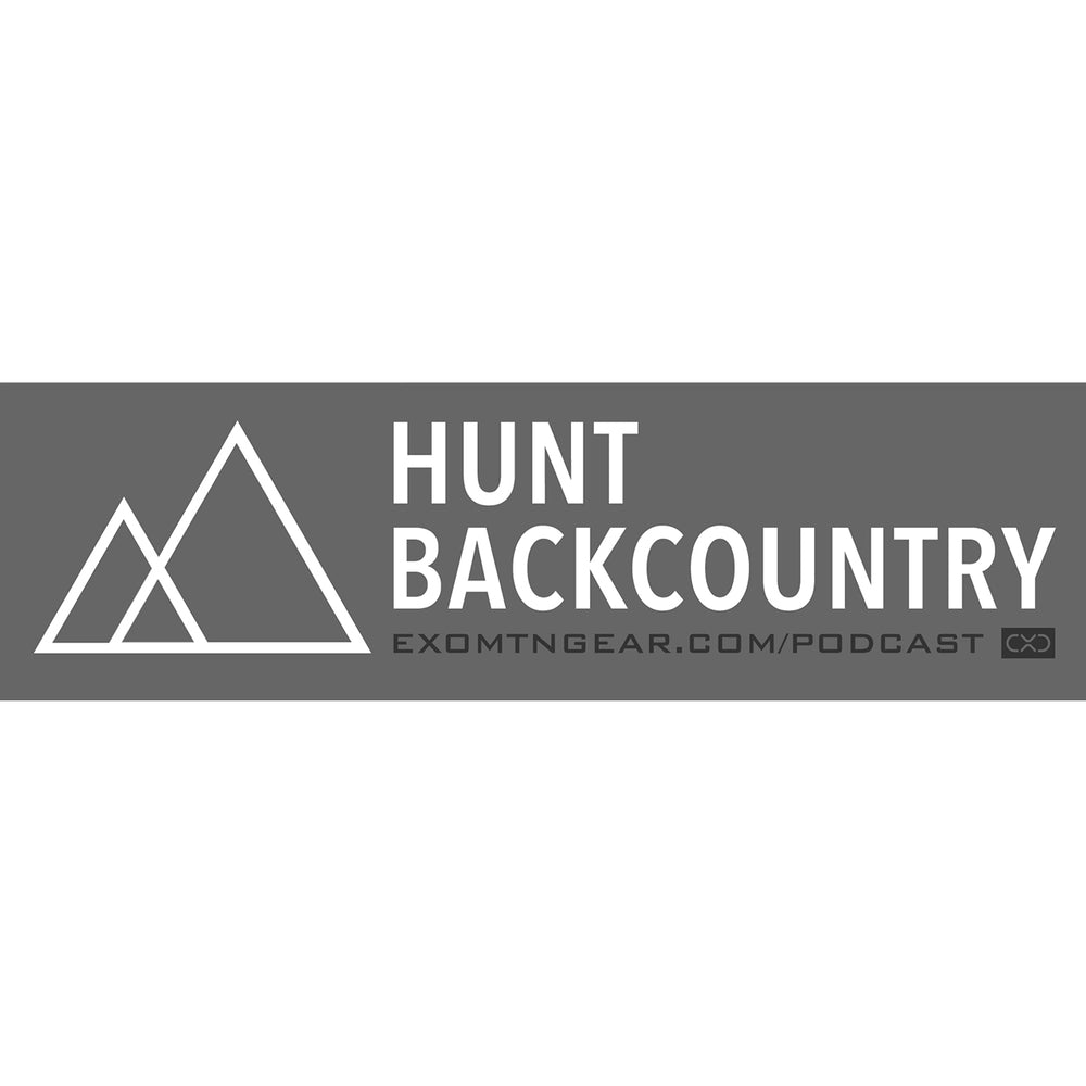 Hunt Backcountry Podcast Decal