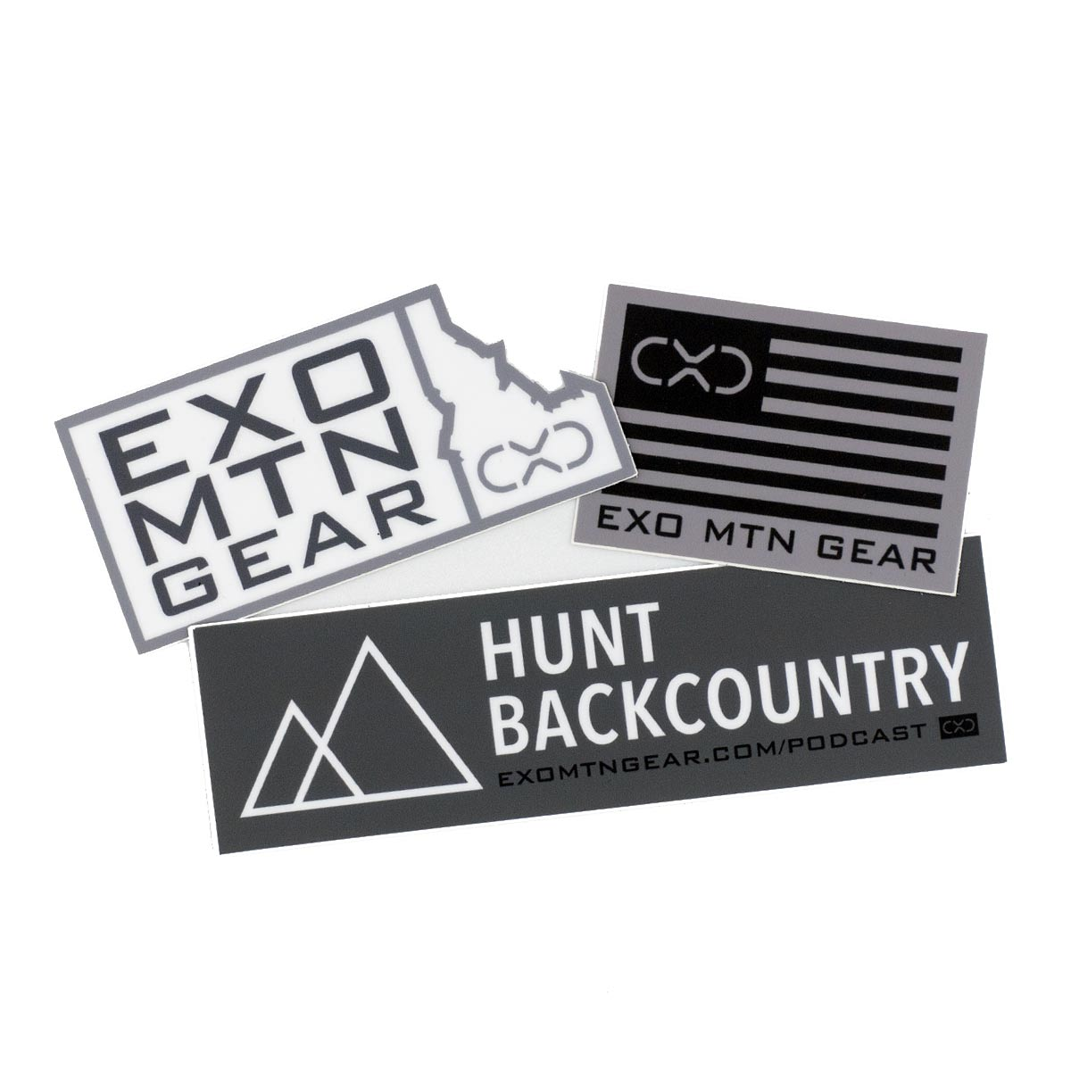 Hunt Backcountry Podcast Decal Pack